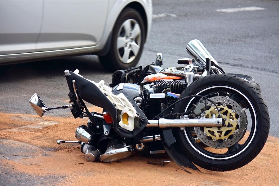 Motorrad Unfall