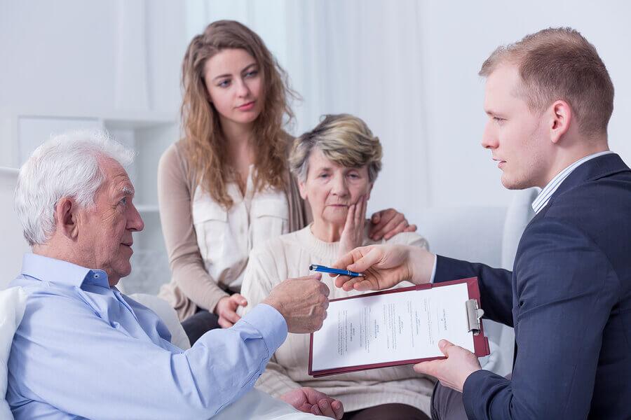 Bei der Sterbegeldversicherung kann nur eine Person auserkoren werden
