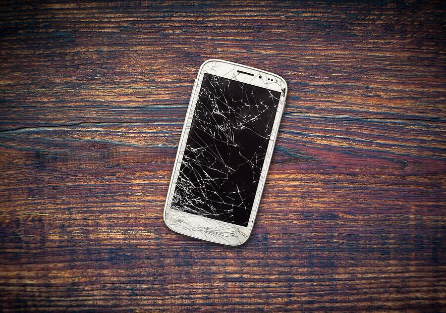 Handversicherung gegen Display-Bruch beim Smartphone